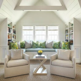 Nantucket, Beach House, Living Room, Family Room, Library, Window Nook
