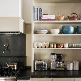 Canyon House Kitchen, Storage Hutch