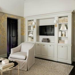 Residence in Houston, Sitting Room