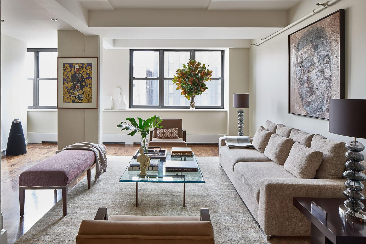 Living room - duplex, Prospect Heights, Brooklyn