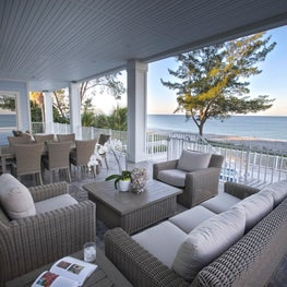Gulf Front Residence, Exterior Balcony