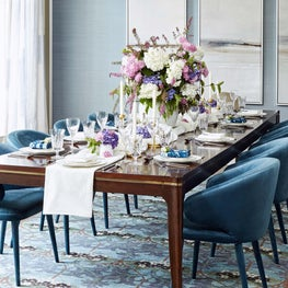 Westchester, Dining Room Tablescape