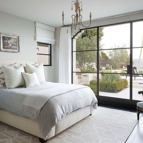 Elegant Light Filled Guest Bedroom