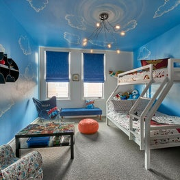 Comic Book Themed Bedroom