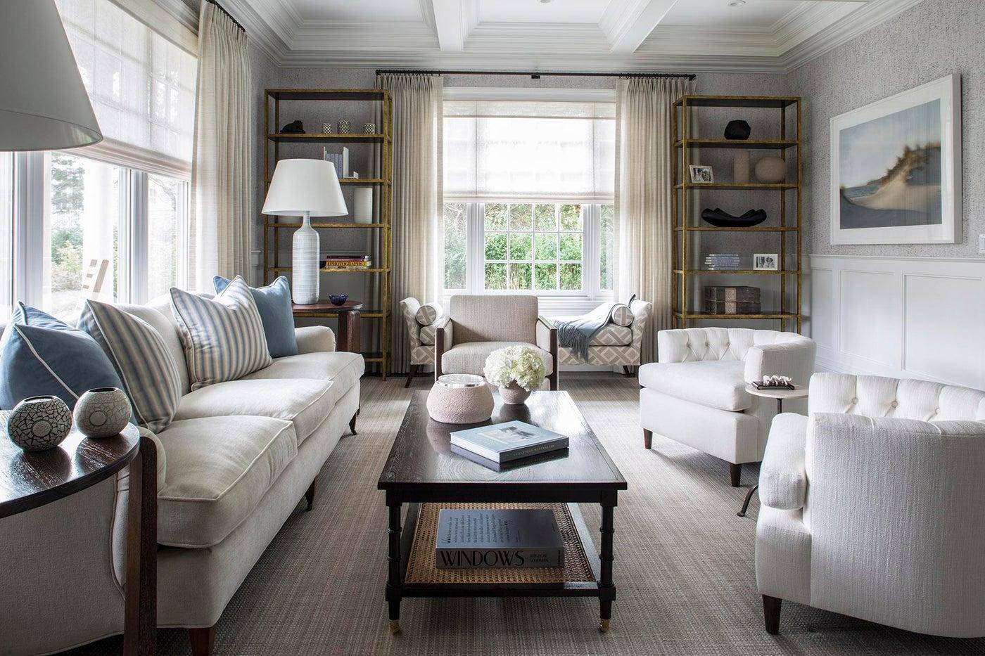 Southampton, NY Living Room