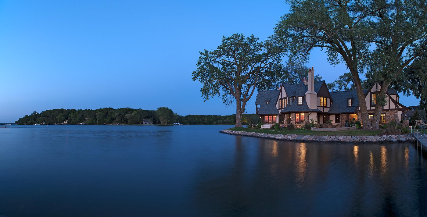 Tudor on the Point - Lake Minnetonka