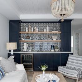 Beach House - Bar and Family Room