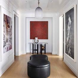 A contemporary gallery
