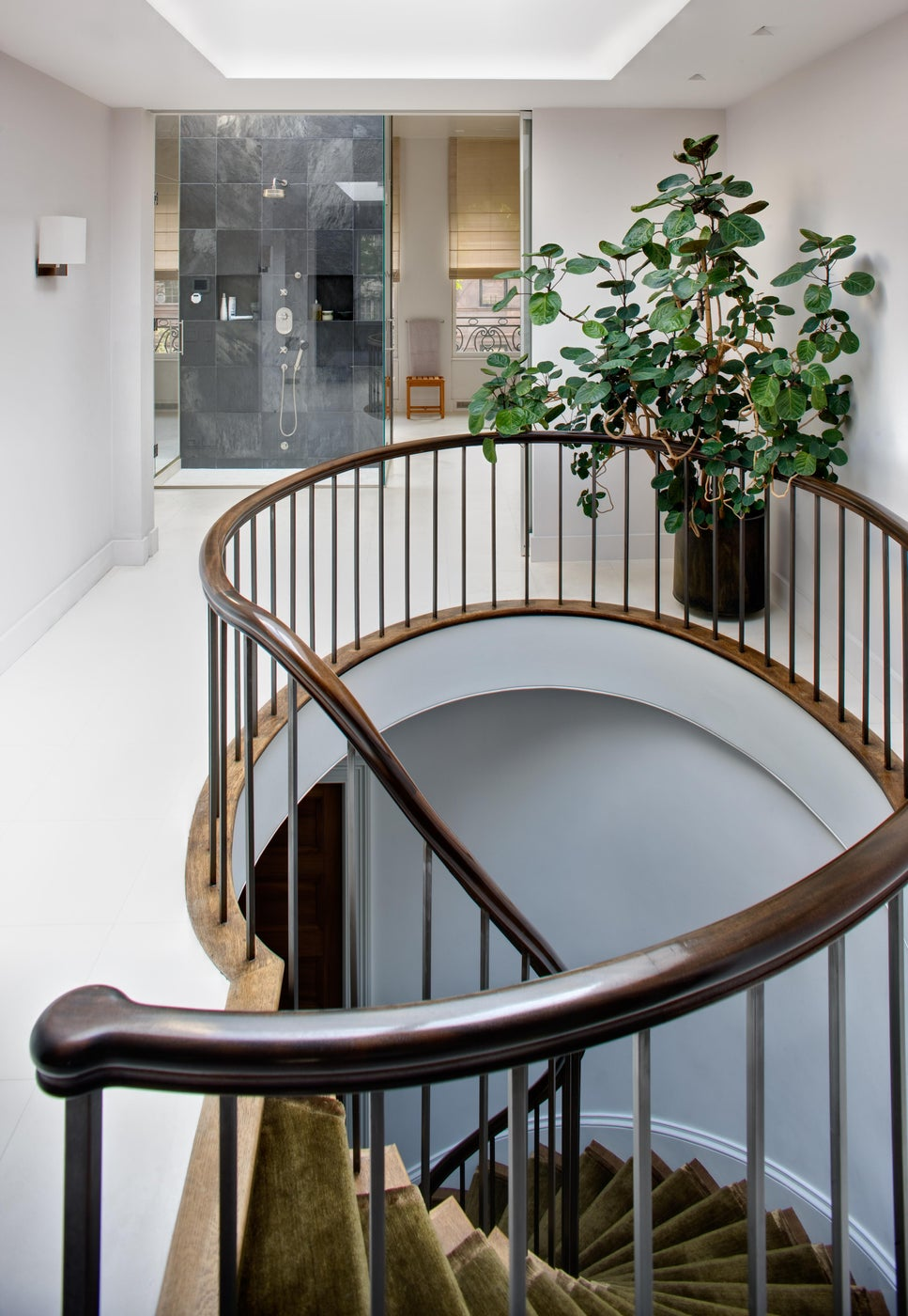 Upper East Side Townhouse, Bathroom and Staircase