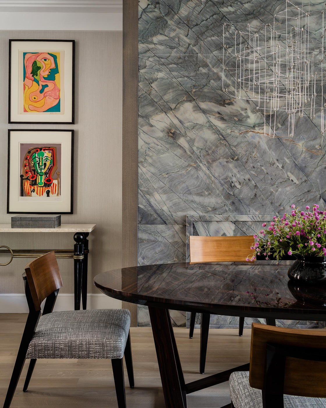 SOUTH END CONTEMPORARY - dining room
