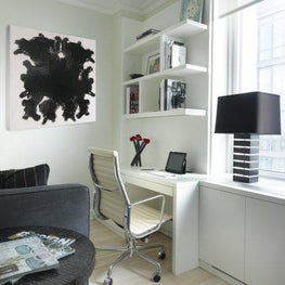 Pied a Terre, Office, Bedroom
