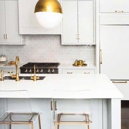 A Colorful Renovation, Kitchen