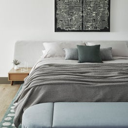 Los Altos Hills Tudor Master Bedroom