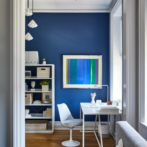 Hudson Street Brownstone I Kid's Room | Workspace