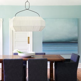 Dining Room Cool and Calm Watery Vibes