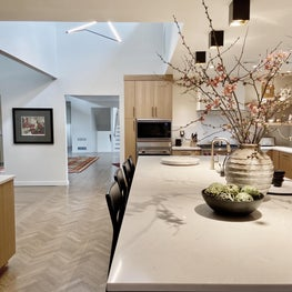 Organically full remodel kitchen in Rumson NJ