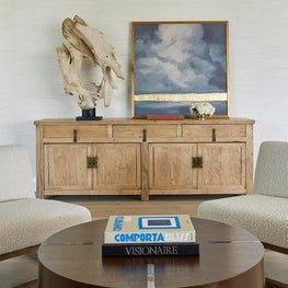 Custom James Duncan coffee table