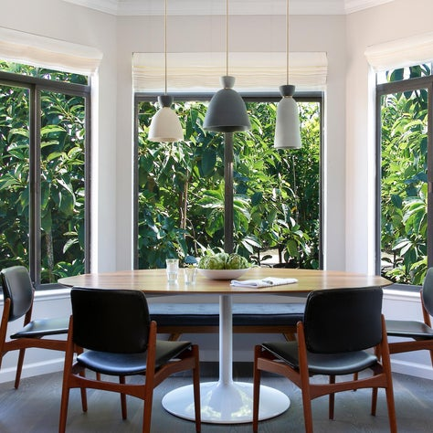Pacific Heights Vintage Modern Dining Room