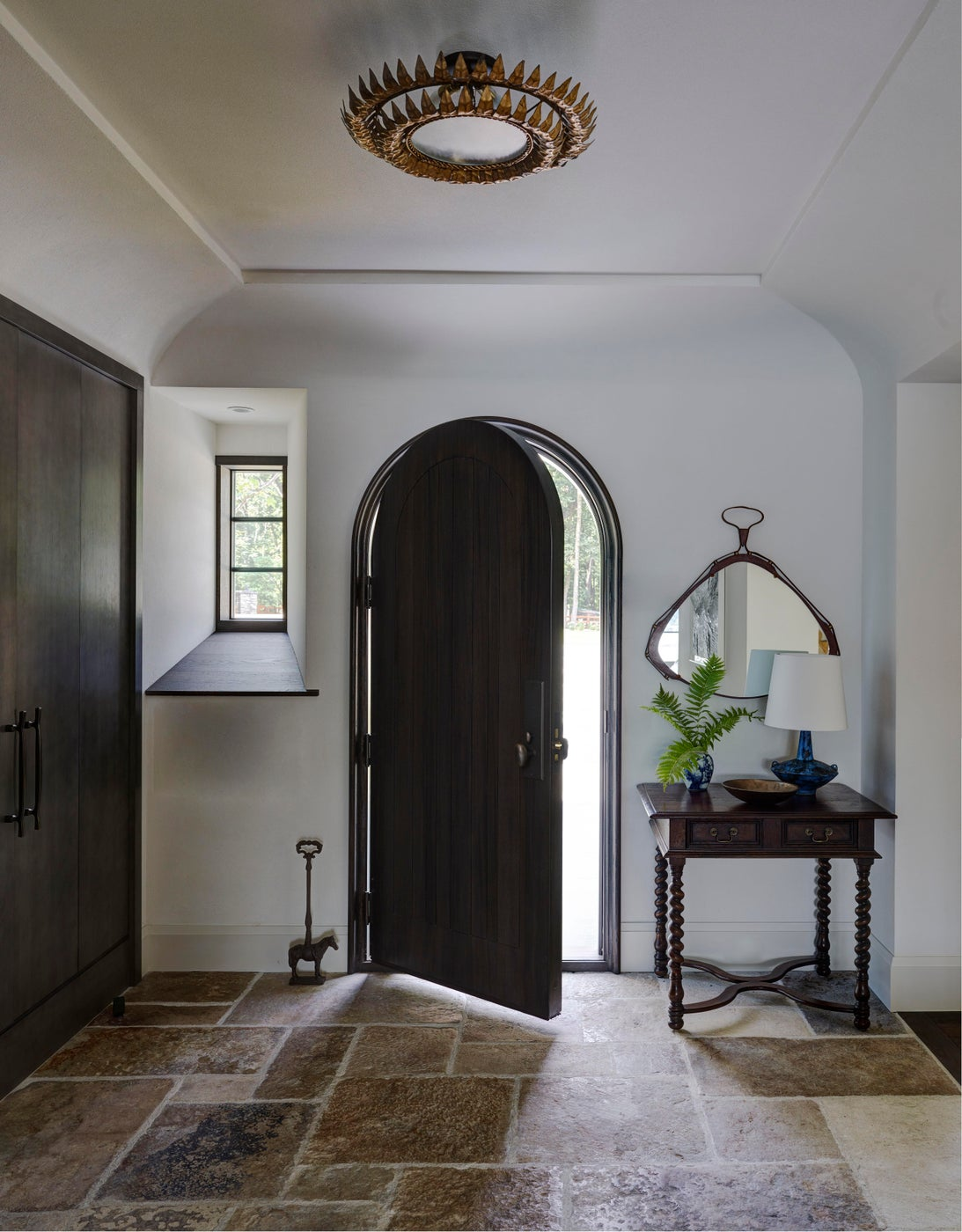 Country Home Entry