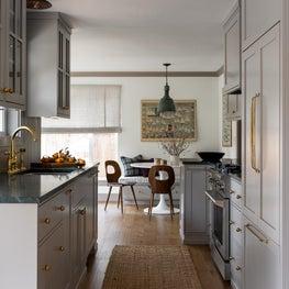 Ballard Cottage kitchen nook