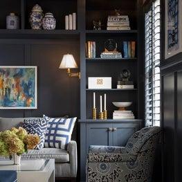 Amanda Reynal Interiors Living Room