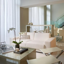 Midtown Miami Penthouse II PH7  Living