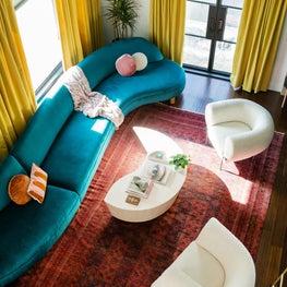 Post-Modern Living Room