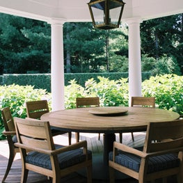 East Hampton Residence - Outdoor Dining Area