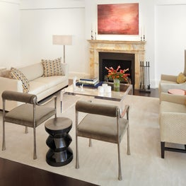 Madison Avenue Residence Sitting Room Mantel