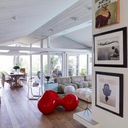Living Room - Hollywood Hills
