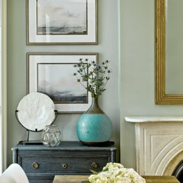 Brynn Olson Design Group - Brooklyn NYC Brownstone - Dining Room Vignette