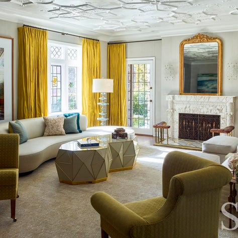 Scarsdale New York Residence, Living Room