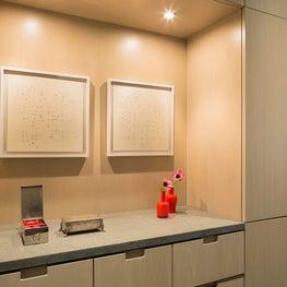 West Village Residence Master Bedroom Millwork