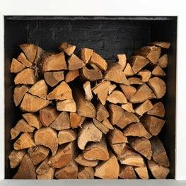 A smart nook for storing firewood
