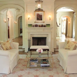 Mid-Country Greenwich Living Room