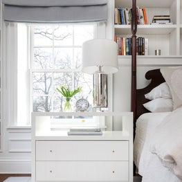A custom bedside designed by Natalie Konstant