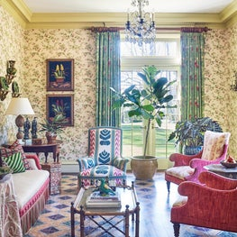 Layered and Patterned Sun Room