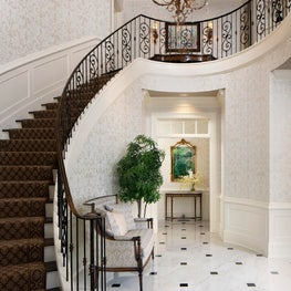 French Chateau / Staircase