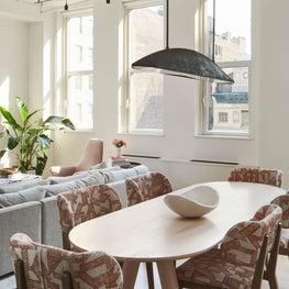 Flatiron Loft, Dining/Living Area
