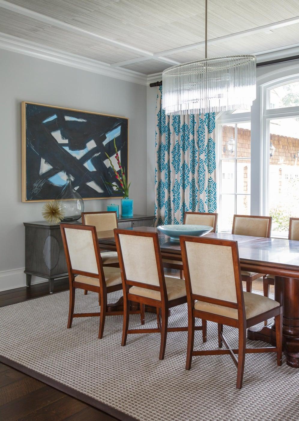 Family Residence, Jacksonville, Fl. Dining Room.