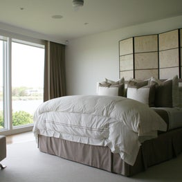 We perfect drapery but we also provide upholstering and custom quilting bedding