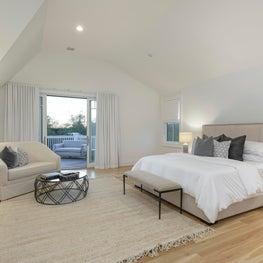 Hamptons Master Bedroom Staging