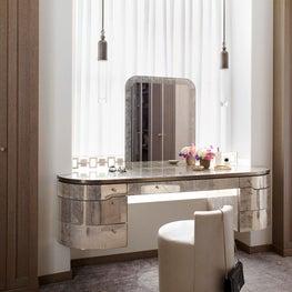 Dressing Table Master Suite - Downtown Triplex Apartment