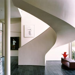 Residence for an Art Collector - Spiral Stair
