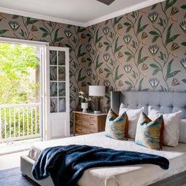 Second floor bedroom revamp with balcony