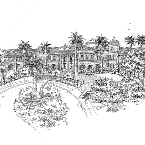 Rendering for Koontz Estate