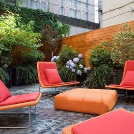 Greenwich Village Townhouse   Garden
