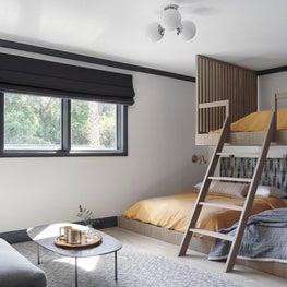 Los Altos Hills Tudor Bunk Room