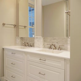 Contemporary Custom Double Vanity