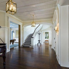 Entry Hall - House at Blue Water Hill - Westport, CT. RAMSA Partners Robert A.M. Stern and Gary L. Brewer led the design.